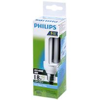 Lâmpada Eletrônica Eco Home Mini Tripla 18w X 220v Branca Fria (luz Branca) E27 Pld18w220ecostk Philips