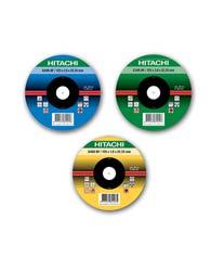 Disco Desbaste 115x6x22,23 P/metal 4 1/2 - 402113 - Hitachi
