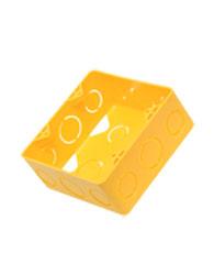 Caixa de Embutir 4x4 Pvc Amarela  11.556  Amanco
