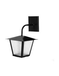 Lanterna L-4-b Preto Quadrado 33cm X 20cm - L-4-b Pt - Lustres Ideal