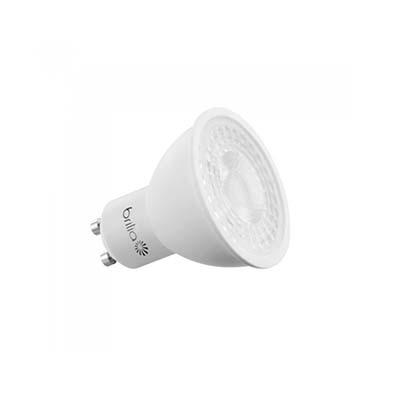 Lâmpada Led Dicroica 7w 127v Dimerizável Luz Branca Amarelada Gu10 - Brilia