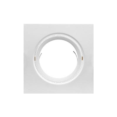 Luminária de Embutir Para 1 Lâmpada Par20 Quadrado Direcionável - Brilia