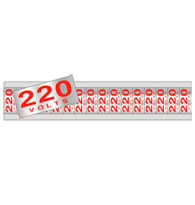 Placa de Voltagem 220v - C05083 5x25 - Indika