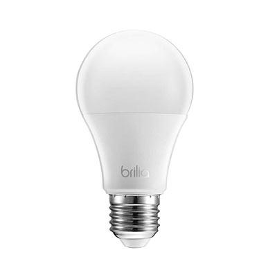 Lâmpada Led Bulbo 11w E-27 Bivolt Luz Branca Certificada - Brilia