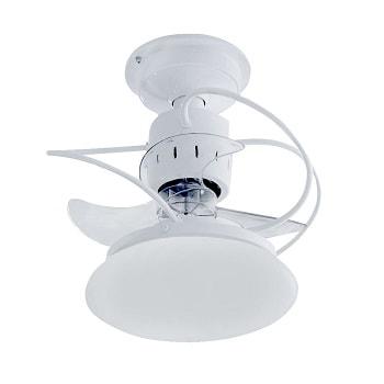 Ventilador Atenas Branco Bivolt Com Controle Vt-a 01 Treviso