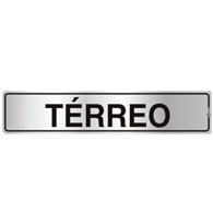 Placa de Aviso Térreo 5x25cm - C05071 - Indika