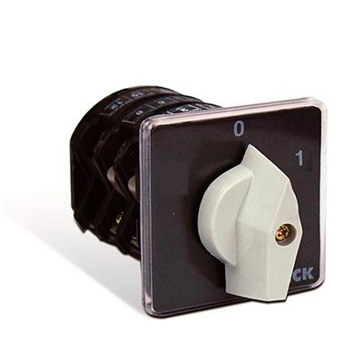Chave Rotativa L/d Trifase 50a Fix. Topo Pos.0/1 - Ta350e - Steck