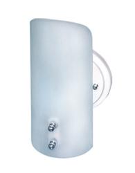 Arandela 23cm Camarim Pequeno Vidro Fosco - 0418f/c - Emalustres