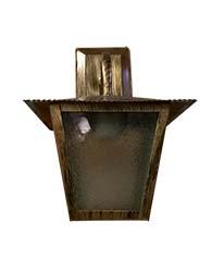 Lanterna L-4-b Ouro Velho Quadrado 33cm X 20cm - L-4-b Ov - Lustres Ideal