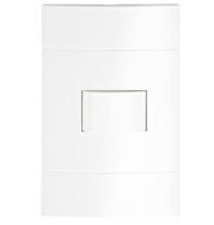 Conjunto Com Interruptor Paralelo Com Placa Branco - Prm 44021 - Schneider - Prime Lunare