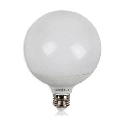 Lâmpada Led Globo 12w Bivolt Luz Branca Amarelada – Ourolux
