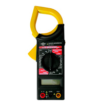 Alicate Amperímetro Digital 8559 - Brasfort