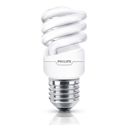 Lâmpada Eletrônica Espiral ECO Twister 8W E27 127V 2700k - Philips