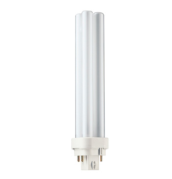 Lâmpada Compacta Pl 4 Pinos 26w X 12v Luz Branca  G24d-3  Philips