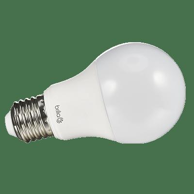 Lâmpada Led Bulbo 7w 6500k Luz Branca Fria Bivolt 600 Lumens - Brilia