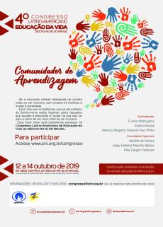 4º Congresso Latino Americano Educação da Vida-Venda de convites no local