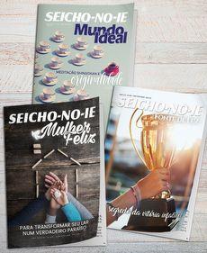 Assinaturas de Revistas ´´Fonte de Luz + Mulher Feliz + Mundo Ideal´´