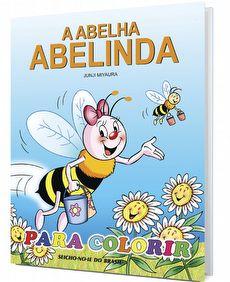A Abelha Abelinda para Colorir