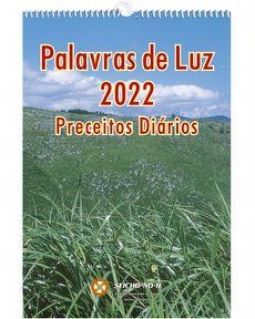 PALAVRAS DE LUZ 2022 (PRECEITOS DIARIOS) PAREDE