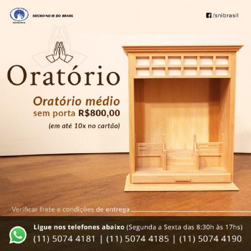ORATÓRIO MÉDIO SEM PORTA
