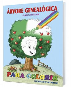 Árvore Genealógica para Colorir