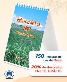 kit com 150 -PALAVRAS DE LUZ 2022 - MESA