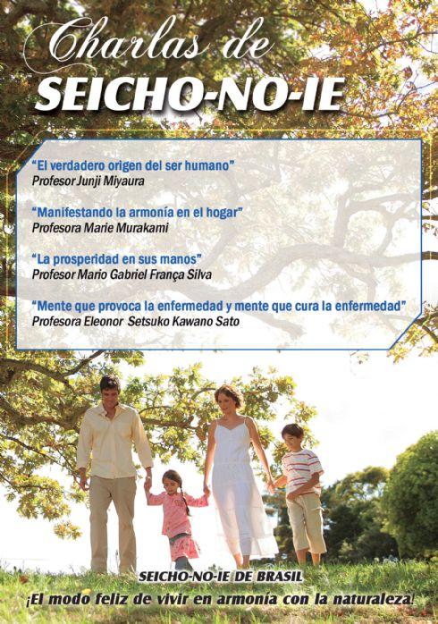 DVD - Charlas de Seicho No Ie
