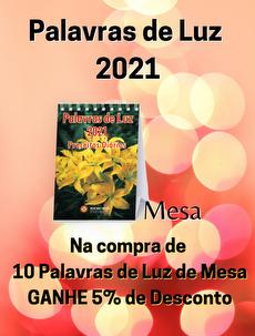 KIT 10 PALAVRAS DE LUZ 2021 - MESA