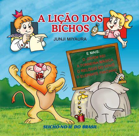 CD A Lição dos Bichos e outras Histórias