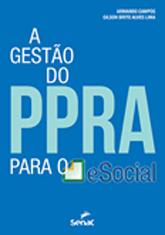 A gestão do PPRA para o eSocial - 1ª ed.
