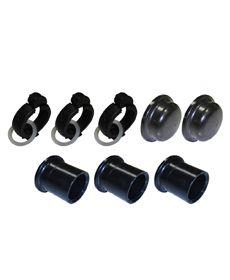Kit Hidráulico fnal composto por 2 cap's - 3 abraçadeiras 3 adaptadores