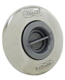 Dispositivo de Aspiração ABS/Inox Pratic 1 1/2´´ para Piscinas de Alvenaria (tubo de 60)