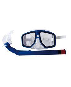 Óculos de proteção para mergulho - infantil 8 a 14 anos (Modelo Nadador c/ Snorkel)