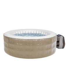 Spa Infável Aquecido Sodramar - 700 litros,  com hidromassagem, aquecimento e lava pés - Piscina Inflável aquecida , Spa, Ofurô