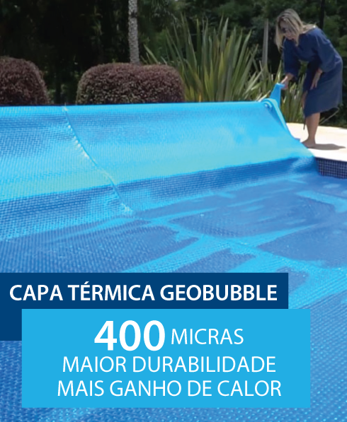 Capa Térmica Geobubble 3x6m (18m²)