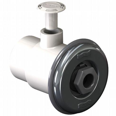 Dispositivo de hidromassagem Standard Prata/Inox  Para piscinas de vinil