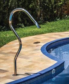 Cascata para piscina em Aço Inox Splash Slim