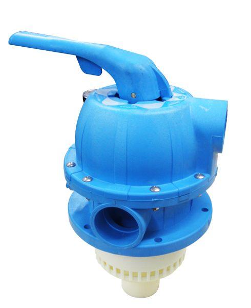 Válvula Multi vias completa azul para Filtros Millenium