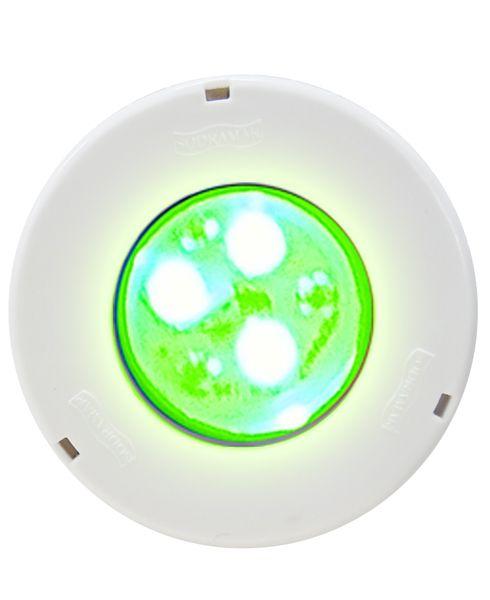 Hiper led 9w RGB corpo ABS / frontal ABS  p/ até 14m²