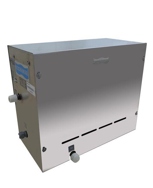 Sauna Steam Inox 9 kw p/ até 10m³