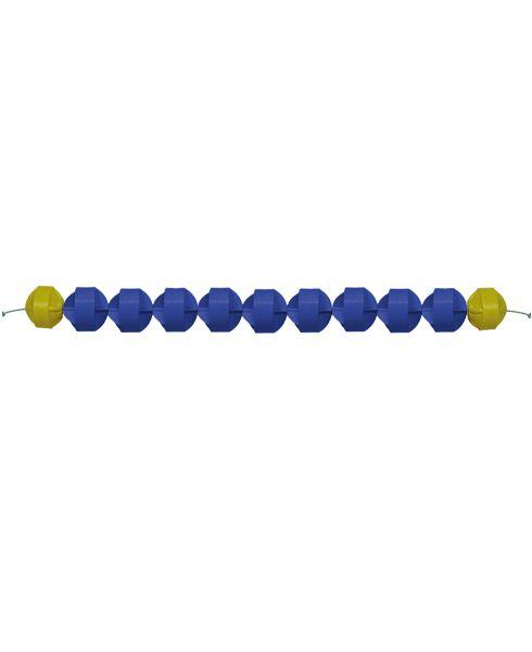 Raia Flutuante Oficial - Azul  anti marola (metro linear)