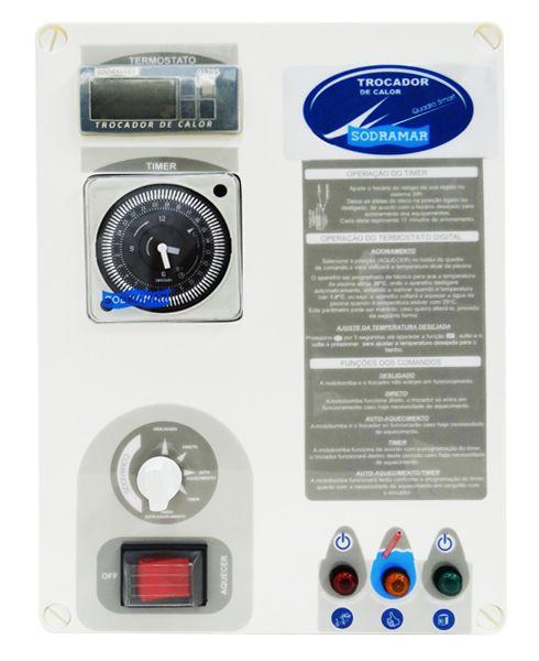 Quadro de Comando Smart para Aquecedor - Trocador de Calor