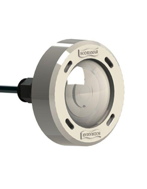 Luminaria p/ piscina led COB 5w RGB Plástico p/ até 12m²