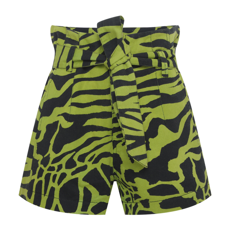 SHORTS CLOCHARD ZEBRA