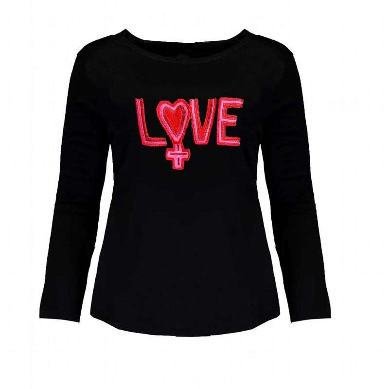 TEE CROPPED LOVE KIDS
