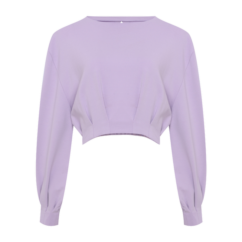 CROPPED ARIANE LAVENDER