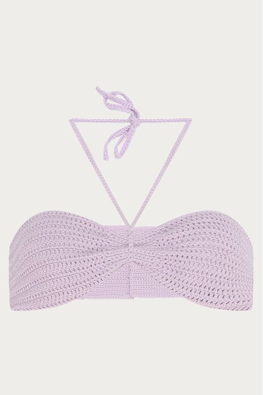 TOP CROCHE LILAS
