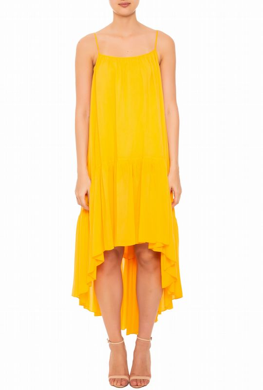 VESTIDO MULLET GEORGIA YELLOW