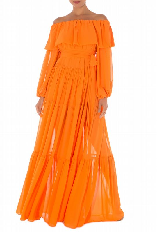 VESTIDO LOUISE ORANGE