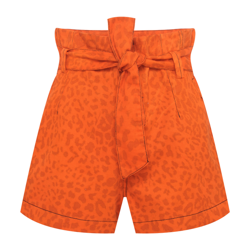SHORTS CLOCHARD ORANGE